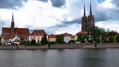 Foto Breslau, Blick auf die Dominsel©Rainer Kieselbach