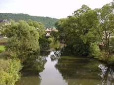 Foto der Lahn©Universitätsstadt Marburg