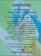 Fotoausstellung Naturgruppe Haddamshausen