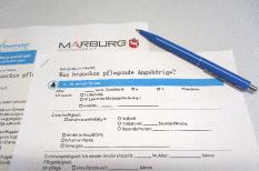 Fragebogen zu Was brauchen pflegende Angehörige?©Universitätsstadt Marburg, Laura Griese