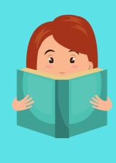 Frau, die ein Buch vorliest©canva