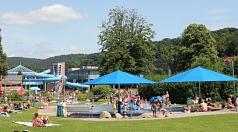 Mehr als 55.000 Menschen besuchten in diesem Jahr das Freibad des AquaMar.