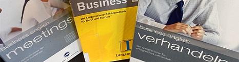 Ausschnitte aus den Titeln von drei Sprachkursen zum Erlernen von Englisch für den Beruf©Universitätsstadt Marburg
