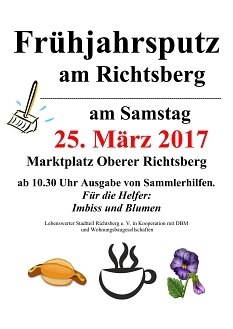 Frühjahrsputz 2017©Lebenswerter Stadtteil Richtsberg e.V.