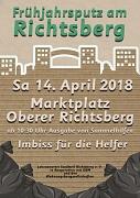 Frühjahrsputz am Richtsberg 14. April 2018