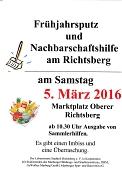 Frühjahrsputz und Nachbarschaftshilfe am Richtsberg