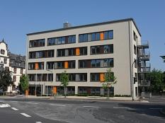 Gebäude Friedrichstraße 36 vom Wilhelmsplatz aus gesehen©Universitätsstadt Marburg