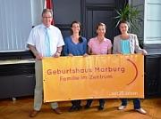 Eröffnung des Geburtshaus Marburg durch Landrätin Kirsten Fründt und Oberbürgermeister Egon Vaupel