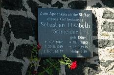 Gedenktafel an der Kirche Haddamshausen©Anke Hahmann