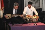 Für den musikalischen Rahmen sorgten Hussain Riaz (links) und Mirweis Nada.