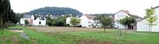 Geländeaufnahme der Elisabethschule aus Richtung Sportplatz©Universitätsstadt Marburg