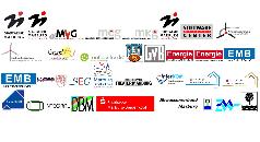 Einige Logos städtischer Gesellschaften