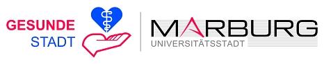 """Logo des Projektes """"Gesunde Stadt""""©Universitätsstadt Marburg"""