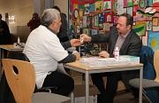 Die Richtsberger Hausärzte boten bei der Veranstaltung unter Schirmherrschaft des Oberbürgermeisters medizinische Beratung.