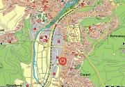 Gewerbegebiet Auf'm Halmburger - Cappel, Karte