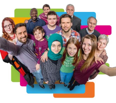 Themenjahr der Antidiskriminierungsstelle des Bundes Gleiches Recht. Jedes Geschlecht.©Antidiskriminierungsstelle des Bundes