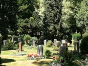 Grabfeld auf dem Hauptfriedhof in Q II