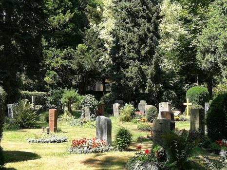 Grabfeld auf dem Hauptfriedhof in Q II©Universitätsstadt Marburg