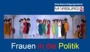 Grafik Flyer  Frauen in die Politik