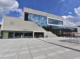 Graphische Gesamtdarstellung der neuen Stadthalle, dem Erwin-Piscator-Haus©Stadt Marburg