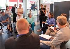 In drei Arbeitsgruppen wurden die Diskussionen und Informationen vertieft.©Universitätsstadt Marburg