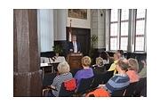 Oberbürgermeister Egon Vaupel dankte den Vertreterinnen und Vertretern von Vereinen für ihr freiwilliges Engagement in der Stadt.