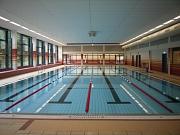 Hallenbad Wehrda - Blick auf das Schwimmerbecken mit den 4 Bahnen