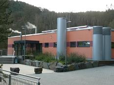 Gesamtblick auf das Hallenbad in Wehrda©Universitätsstadt Marburg - Rolf Klinge