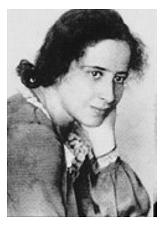 Hannah Arendt.©Universitätsstadt Marburg