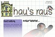 Ein Ausriss der Titelseite von hau's raus Nummer 14, Schwerpunkt Held*innen.