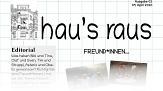Ein Ausriss aus der Titelseite der zweiten Ausgabe von hau's raus, dem Newsletter der Jugendförderung.©Universitätsstadt Marburg