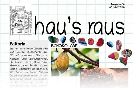 Ein Ausriss von der Titelseite der Ausgabe Nummer 6.©Universitätsstadt Marburg
