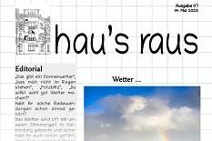 Ein Ausriss aus der Nummer 7 des Newsletters hau's raus der Jugendförderung©Universitätsstadt Marburg