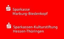 """Das Projekt Marburg800-Stadtschreiberin und Theaterstück """"800"""" wird von der Sparkasse als Hauptsponsor unterstützt.©Sparkasse Marburg-Biedenkopf"""