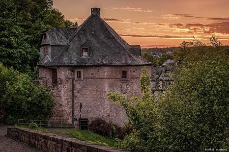 Hexenturm am Marburger Schloss