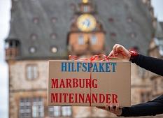 """Die Stadt Marburg hat ein Hilfspaket geschnürt: 3,7 Millionen Euro stellt Marburg bereit, um die wirtschaftlichen und sozialen Folgen der Corona-Pandemie abzumildern. Im Paket enthalten ist das Programm """"Sicheres Wohnen in der Corona-Krise"""".©Simone Schwalm, Stadt Marburg"""