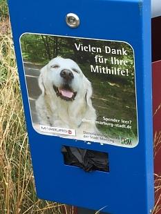 Hundekotbeutel Spenderstation©Hubert Detriche