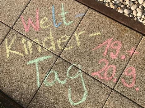 In Marburg finden anlässlich des Weltkindertags an zwei Tagen verschiedene Aktionen statt.©Simone Batz, Stadt Marburg