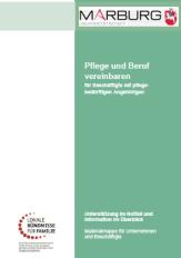 Infomappe Pflege und Beruf©Universitätsstadt Marburg