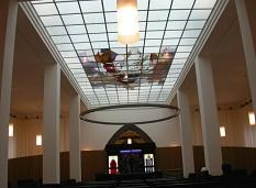 Innenraum der neuen Marburger Synagoge©Rainer Kieselbach