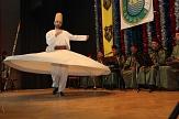 Der Tanz des Derwischs gehörte zu den kulturellen Höhepunkten auf der Bühne.©Stadt Marburg, i. A. Heiko Krause