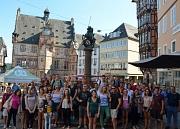 Rund 60 Studierende aus 20 Ländern sind anlässlich der Internationalen Sommeruniversität in Marburg zu Gast.