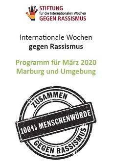 Internationale Wochen gegen Rassismus 2020©Universitätsstadt Marburg