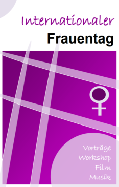 Internationaler Frauentag©Universitätsstadt Marburg