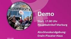 Das Gleichberechtigungsreferat der Stadt, das Frauenbüro des Landkreises und die Frauenbeauftragte der Universität laden mit einem breiten Bündnis zur Demonstration am 8. März auf.