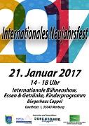 Das Internationale Neujahrsfest findet am 21. Januar von 14 bis 18 Uhr im Bürgerhaus Cappel statt.