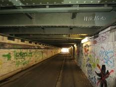 Jägertunnel am Hauptbahnhof in Marburg©Universitätsstadt Marburg