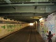 Jägertunnel am Hauptbahnhof in Marburg