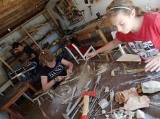 Kreative und handwerkliche Workshops gehören ebenso in das vielfältige Programm der Jugendförderung.©Universitätsstadt Marburg