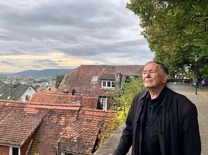 """Für eine Stadtplanung nach """"menschlichem Maßstab"""" plädierte der international ausgezeichnete Stadtplaner Jan Gehl beim Besuch in Marburg.©Monika Bunk"""